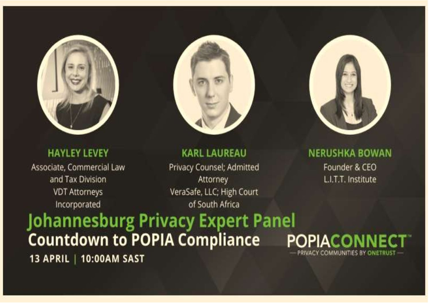 [ICYMI] – VDT Attorneys joined POPIAConnect Panelist Discussion on 13 April 2021
