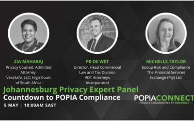 [ICYMI] – VDT Attorneys joined POPIAConnect Panelist Discussion on 5 May 2021